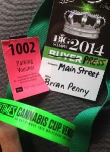 Brian Penny cannabis cup media credentials