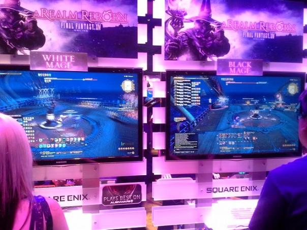 E3 2014 Square Enix booth