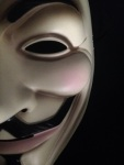 Anonymous mask Versability gonzo whistleblower