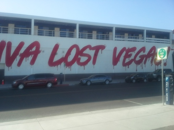 Las Vegas Graffiti downtown Brian Penny