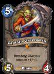 Captain Greenskin Legendary Hearthstone Card