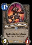Clockwork Gnome Hearthstone Paladin Hero Build