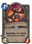 Clockwork Gnome Hearthstone Paladin Hero Build