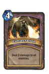 Consecration Paladin Hearthstone Card