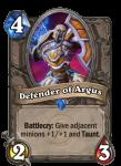 Defender of Argus Hearthstone Card