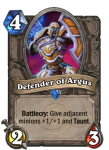 Defender of Argus Hearthstone Card