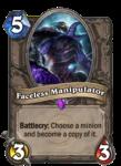 Faceless Manipulator Hearthstone Epic Card
