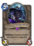 Faceless Manipulator Hearthstone Epic Card
