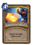 Hammer of Wrath Pally Hearthstone Card