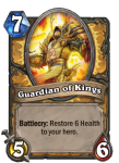 Hearthstone Guardian of Kings Paladin Deck Card