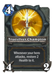 Hearthstone Truesilver Champion paladin Weapon