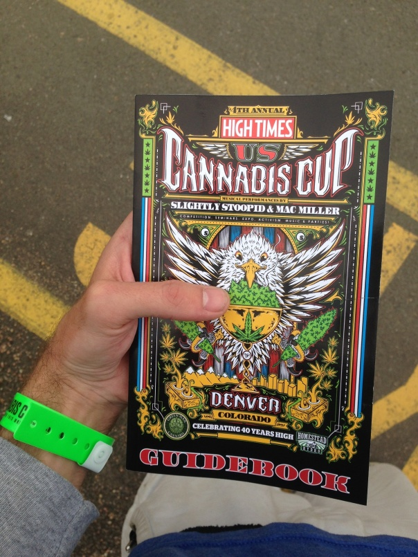 High Times 2014 Denver Cannabis Cup Program Guide Versability