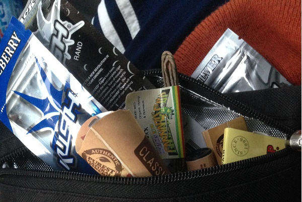 High Times 2014 Denver Cannabis Cup Swag and Paraphenalia Versability