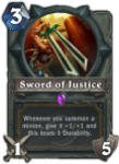 Sword_of_Justice Paladin Hearthstone Weapon