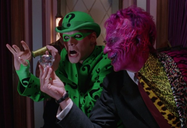 Two Face Riddler Batman Forever Wost Movies Versability