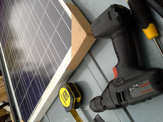 Solar Panel Van Installation